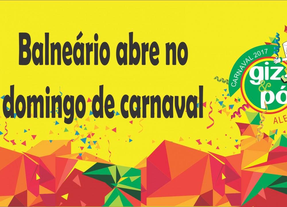 Carnaval no Balneário do SintealSITE