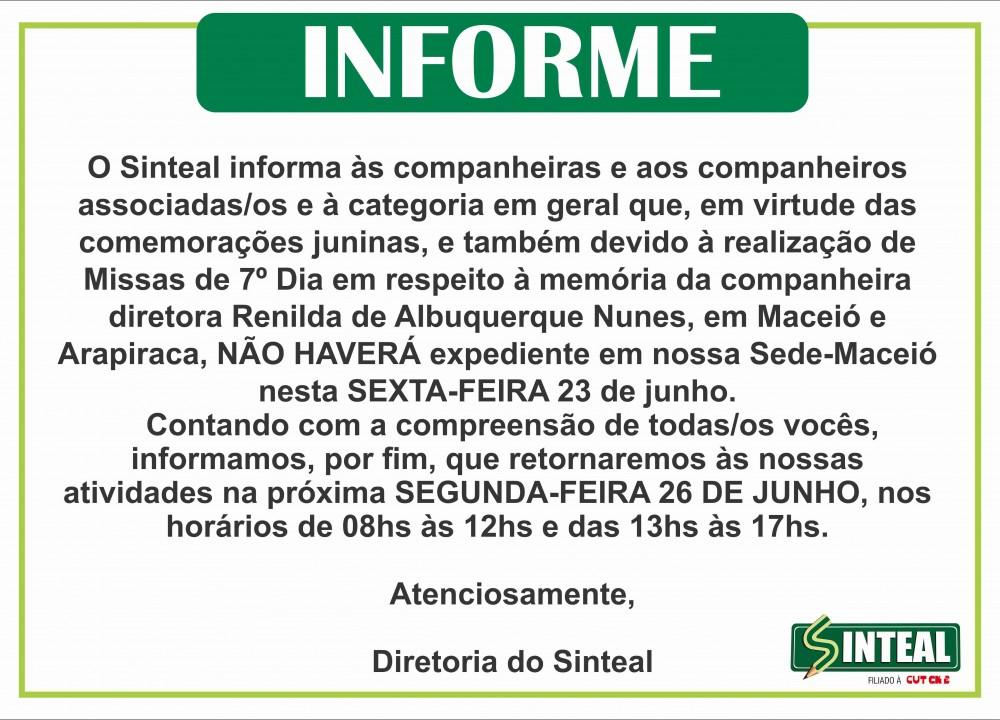 INFORME FECHADO RENA