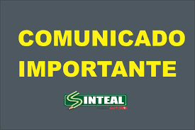 COMUNICADO IMPORTANTE SINTEAL